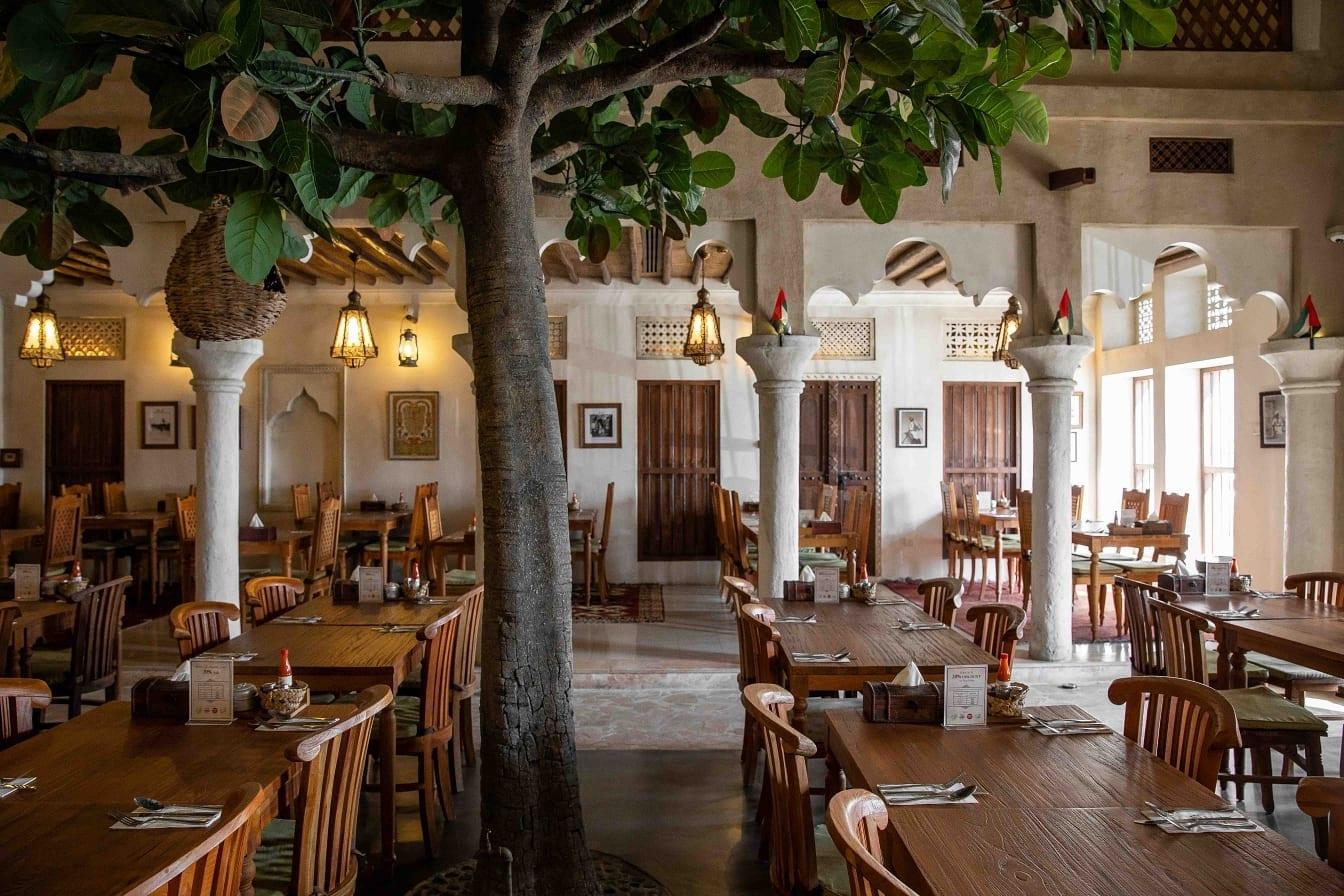 Al Fanar RAK indoor seating
