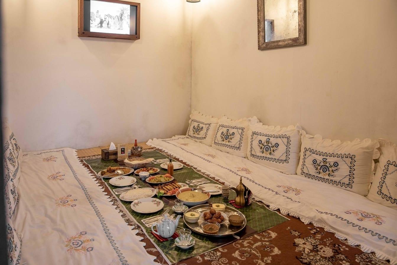Al Fanar Al Barsha private seating